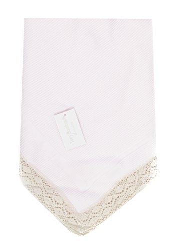 Danielstore-Toquilla de lana para bebés y recién nacidos - Color rosa