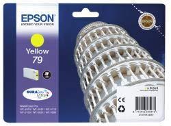 Epson Original C13T79144010 / 79, für Workforce Pro WF-5690 DWF Premium Drucker-Patrone, Gelb, 6,50 ml (4630 Pro Epson Drucker Workforce)