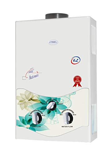 Power Pye 6 litre Copper Instant Gas Water Heater Geyser (GreenFlora)