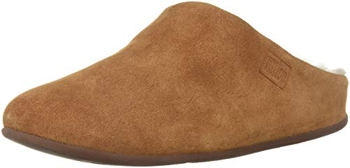Tumbled Brown EU 645 Donna Shearling Tan 39 Pantofole Chrissie Fitflop XIw1p