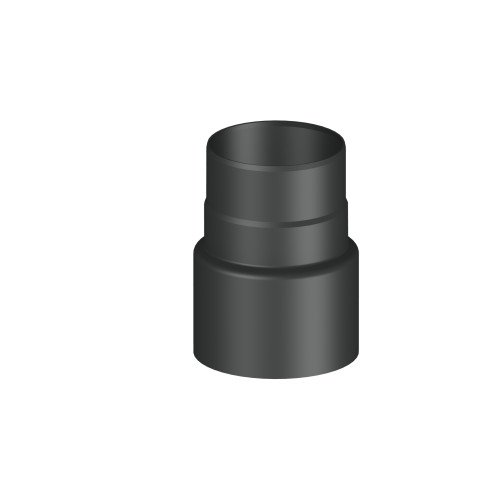 Ofenrohr/ Rauchrohr/ Reduzierung Ø 150-130mm, lackiert (Zubehör Ofenrohr)