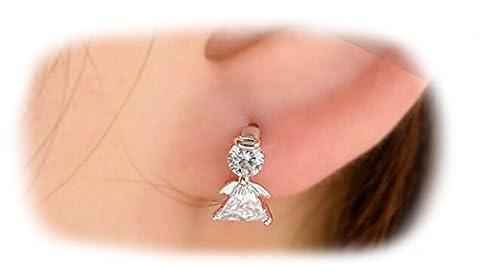 Boucles d'oreilles clous Angle