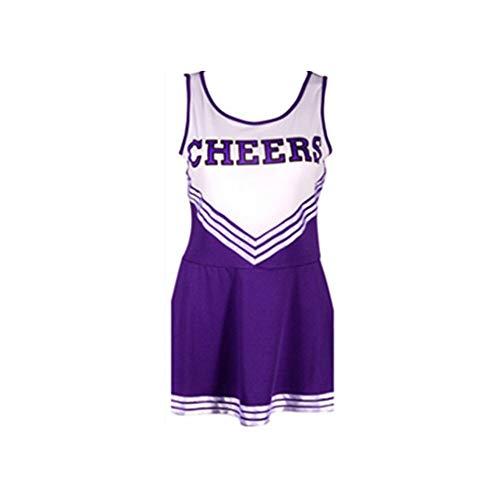 MCO%SISTSR Cheerleader-Kostüm,Musik-Kostümkostümwettbewerbs-Tanzleistung des Mädchens des Einheitlichen Fußballs des Mädchens Sexy ()