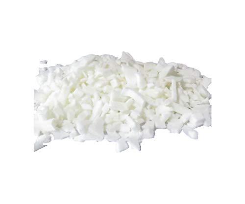 pemmiproducts Latex Schaumstoff Flocken aus 100% Kautschuk, Weiss, 2 kg, (EUR 5,75/kg), waschbar, Latexflocken geeignet als Füllmaterial für z.B. Plüschtiere, Puppen, Bären, Kissen usw.