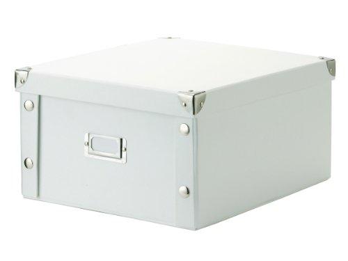 zeller 17763 scatola per archiviazione in cartone 31 x 26. Black Bedroom Furniture Sets. Home Design Ideas