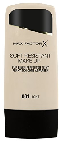 Max Factor Soft Resistant Make-up, 001 Light, 1er Pack (1 x 35 ml)