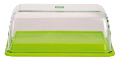 Zak Designs 0989-J761 Beurrier/Boîte 2 en 1 SAN + Mélamine Vert Anis