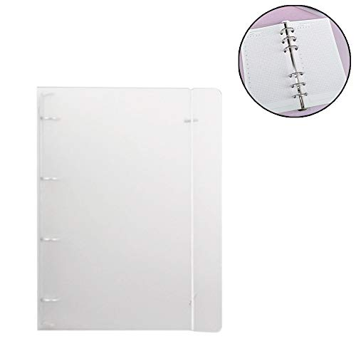 Matte Binder Lose Bügel Ungeheftetes Inner Core A4 Notebook Kugel-Journal-Planer Bürobedarf