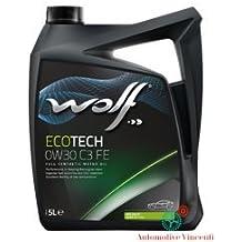 WOLF Olio motore 5 Litri ECOTECH 0W30 FE (N. 6 Del Carburante Olio)