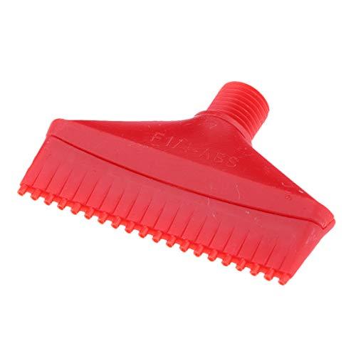 Sharplace Ugello Soffiatore Aria Nebulizzatore Getto Soffiatore Spruzzo ABS - Rosso 70mm