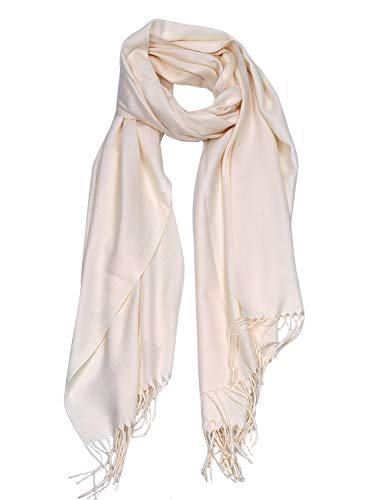 DEBAIJIA Bufanda acogedora Super suave Smooth Pashmina Cold Protection Stole Chal lana de cachemira...