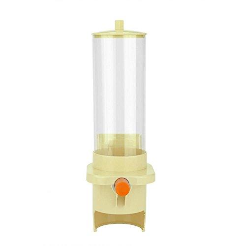 Dispensador de Taza de Agua Dispensador de Plástico Montado en Pared para Tazas de Papel y Vasos de Plástico (Amarillo Automático, 30 Tazas)