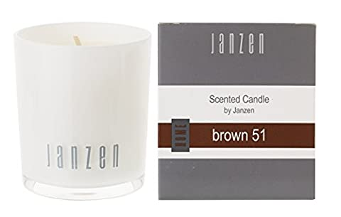 Janzen Duftkerze brown 51, 1er Pack (1 x 135 g)