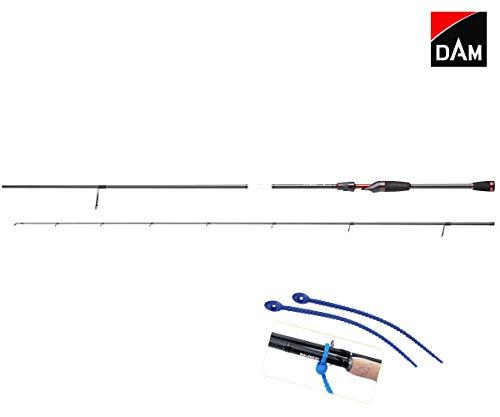 Dam Angelrute Effzett Perch Special 3-12 g 2,30 m Barschrute Spinnrute