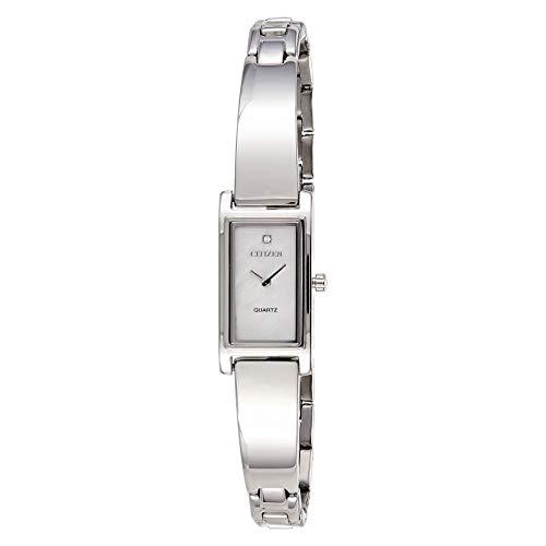 citizen Analog White Dial Women's Watch - EZ6360-50D