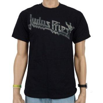 JUDAS PRIEST - DISTRESSED METAL Band T-Shirt (L)