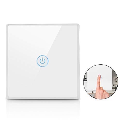 Interruptor de luz inteligente de Wifi, Interruptores de pared de inteligencia inalámbricos...