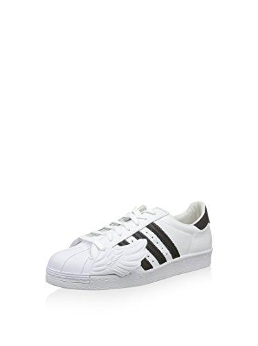 adidas Unisex-Erwachsene Js Superstar Wings Sneaker Wei