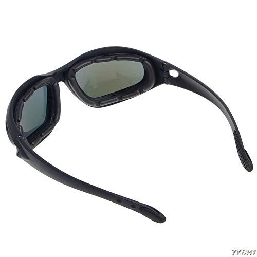 Windproof Polarized Motorrad Objektiv Sonnenbrille Reiten Radfahren Biker Sport Wrap Brille Männer Und Frauen