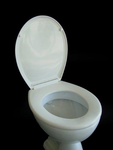 ADOB 12264 WC Sitz Klobrille Duroplast