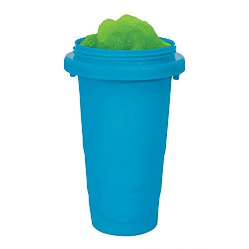weg-ist-weg.com Chillfactor Slusheis Maker/Slush Eis Maschine in blau, BPA-Frei/Lebensmittelecht - Slushymaker, Eisbecher 240 ml, Wassereis selber machen