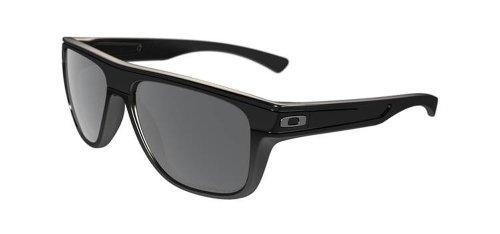 Oakley Herren Breadbox Sonnenbrille, Schwarz (Polished Black), 56