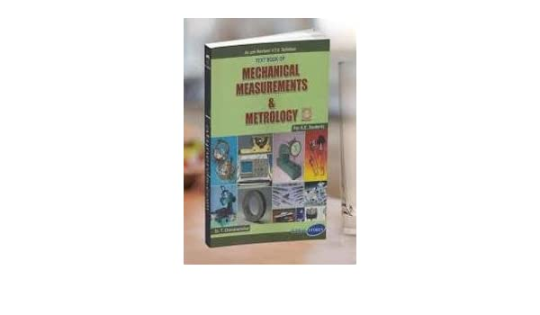 Mechanical Measurements And Metrology Book