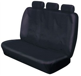 XtremeAuto© REAR TRIPLE BLACK BENCH SEAT COVERS FOR MAZDA B2500