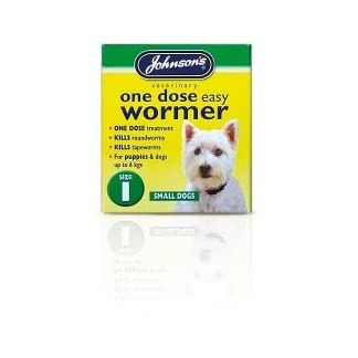 Johnsons Vet One Dose Easy Wormer Size 1 3 x 100mg Tablets (200728) Johnsons Vet One Dose Easy Wormer Size 1 3 x 100mg Tablets (200728) 31tGzMgjI0L