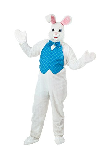 Plus Size Mascot Easter Bunny Fancy Dress Costume 2X
