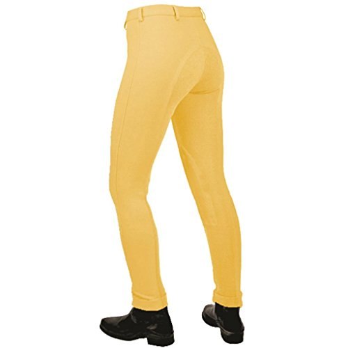 genuine-sheldon-plain-jodhpurs-by-discount-equestrian-all-sizes-colours-canary-32-uk14