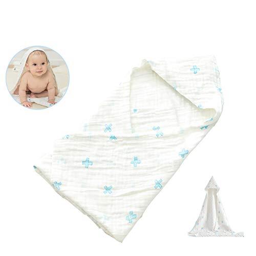 LYXCM Baby Handtuch Mit Kapuze Für Neugeborene Born Kleinkind Große Baby Badewanne Und Badetuch Geschenk, Bio-Handtuch Baby, Baby Handtuch Weich