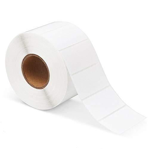 Etichette adesive, adesivi vuoti autoadesivi, rotolo appiccicoso, per ufficio cucina indirizzo spedizione etichette prezzo adesivi per congelatore etichette per data (7 cm * 3 cm * 100 cm)
