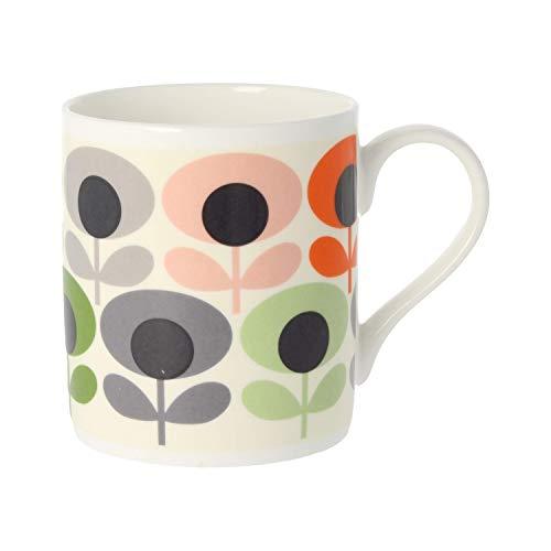 Orla Kiely Multi Fleur ovale Rose, Mug en porcelaine anglaise