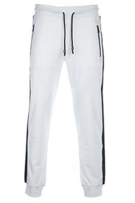Armani Jeans Sweat Pant Mesh in White