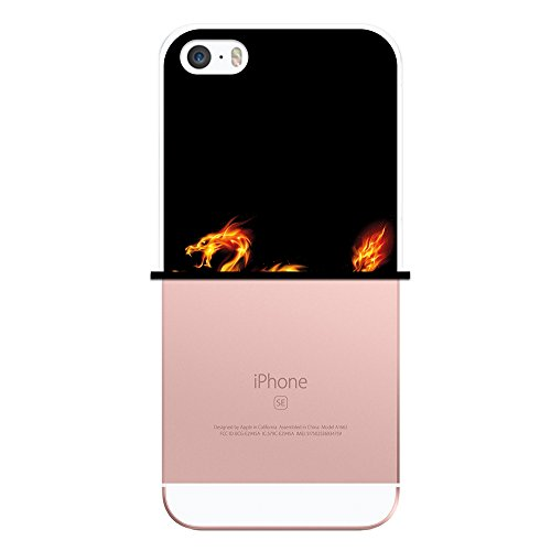 iPhone SE iPhone 5 5S Hülle, WoowCase Handyhülle Silikon für [ iPhone SE iPhone 5 5S ] Fußball, der den Wand bricht Handytasche Handy Cover Case Schutzhülle Flexible TPU - Schwarz Housse Gel iPhone SE iPhone 5 5S Transparent D0043