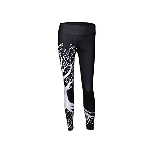 44143696aeef32 aoliaoyudonggha Women Fashion Tree Printed Workout Leggings High Waist  Fitness Trousers Pants