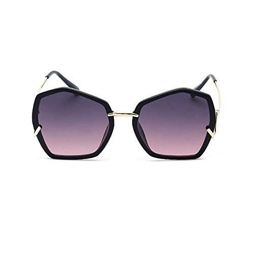 XHCP Frauen polarisierte Klassische Flieger-Sonnenbrille, Damen, die übergroße polarisierte Sonnenbrille-Mann-Ferien-Uv400 Unisexgolf-Sonnenbrille-unregelmäßige Form-Gläser kaufen (Farbe: C3, Grö