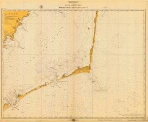Historische Seekarte 1232–04–1916: NC, Cape hatteras-wimble Scheren zu Ocracoke Einlass Jahr 1916von oceangrafix (Oceangrafix Cape)