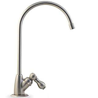 Aquasana AQ-5200.55 2-Stage Under Counter Water Filter System with Brushed Nickel Faucet by Aquasana