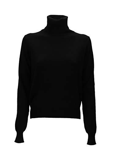 Maison Margiela Damen S51HA0963S16885900 SChwarz Wolle Sweater