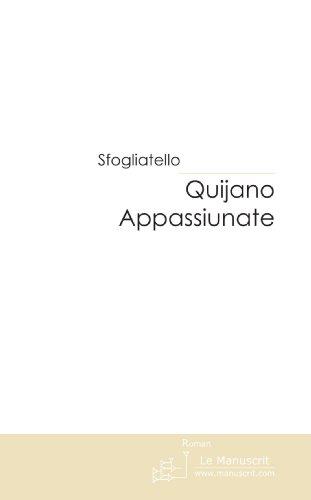 Quijano Appassiunate [Pdf/ePub] eBook
