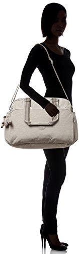 Kipling - JULY BAG - Reisetasche - Small Flower - (Multicolor) Pastel Beige C