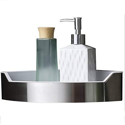 Acciaio inox + abs hiendure mensola bagno organiser portaoggetti da doccia angolare holder, triangle shelf