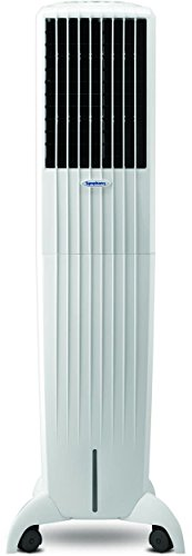 Symphony Diet 50i 50-Litre Air Cooler with Remote (White)-For Medium...