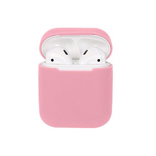 xberstar Silikon stoßfest Schutzhülle Sleeve Cover Haut für Apple airpods True Wireless Kopfhörer Ladekabel Box -