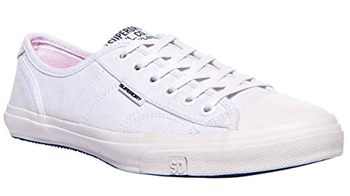 Superdry Damen Low PRO Sneaker Weiß (Optic White 26c) 37 EU