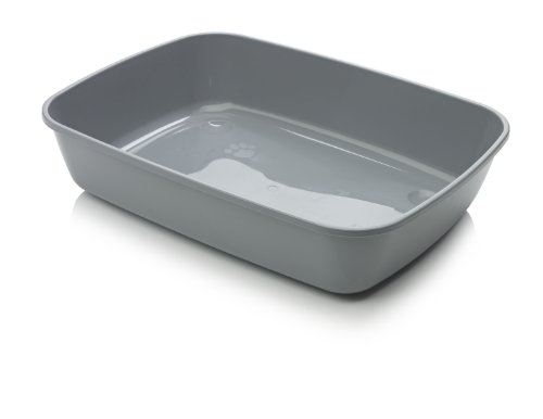 Savic Isis Cat Litter Tray, 50 cm, Cold Grey 1