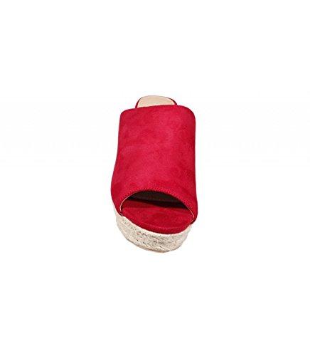 Buonarotti, Mules pour Femme Rouge