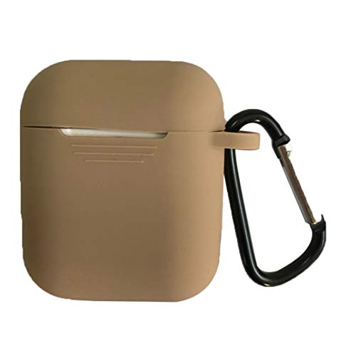 DF-FR Protecteur d'écouteurs sans Fil à Boucle JTX Anti-Perte Accessoires résistants à l'usure Durablement conçus (Couleur: Brun Clair)